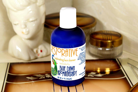 Restorative Face Cleanser - Blue Dawn Aromatherapy
