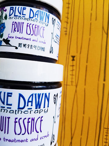 Fruit Essence Face Scrub and Treatment - Blue Dawn Aromatherapy