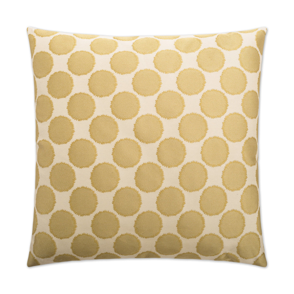 Well Rounded Pillow in Gold