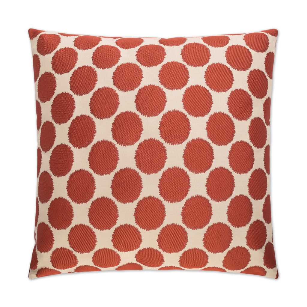 Well Rounded Pillow in Red