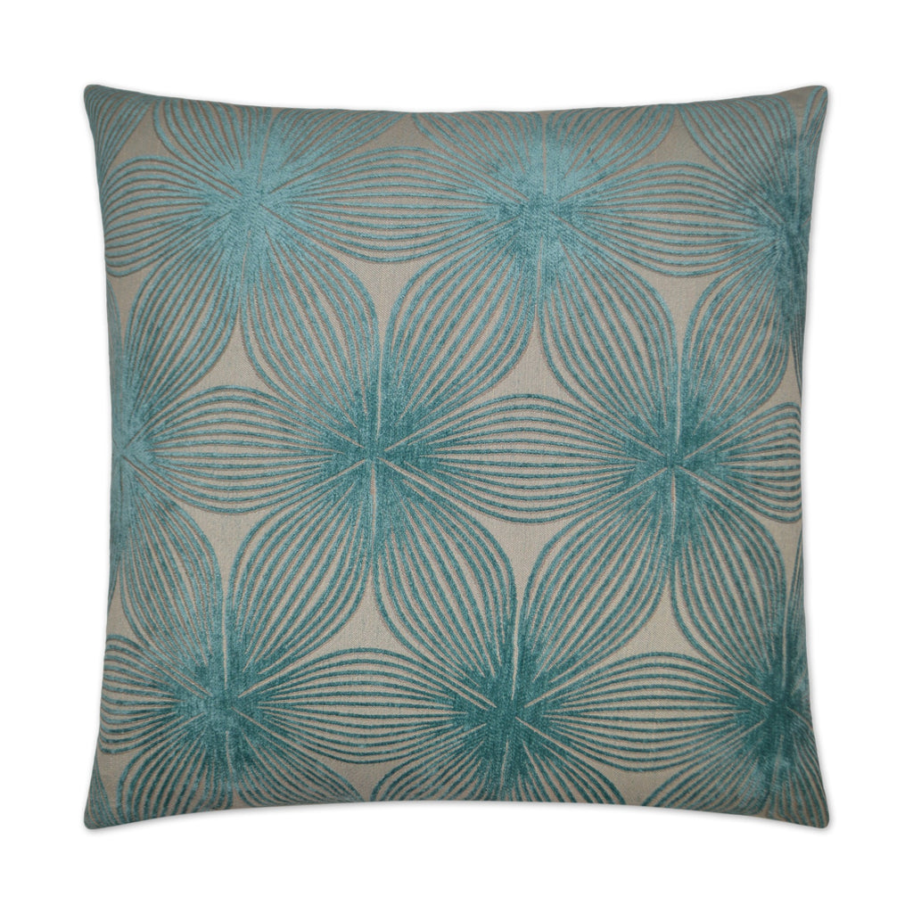 Ellery Pillow in Aqua