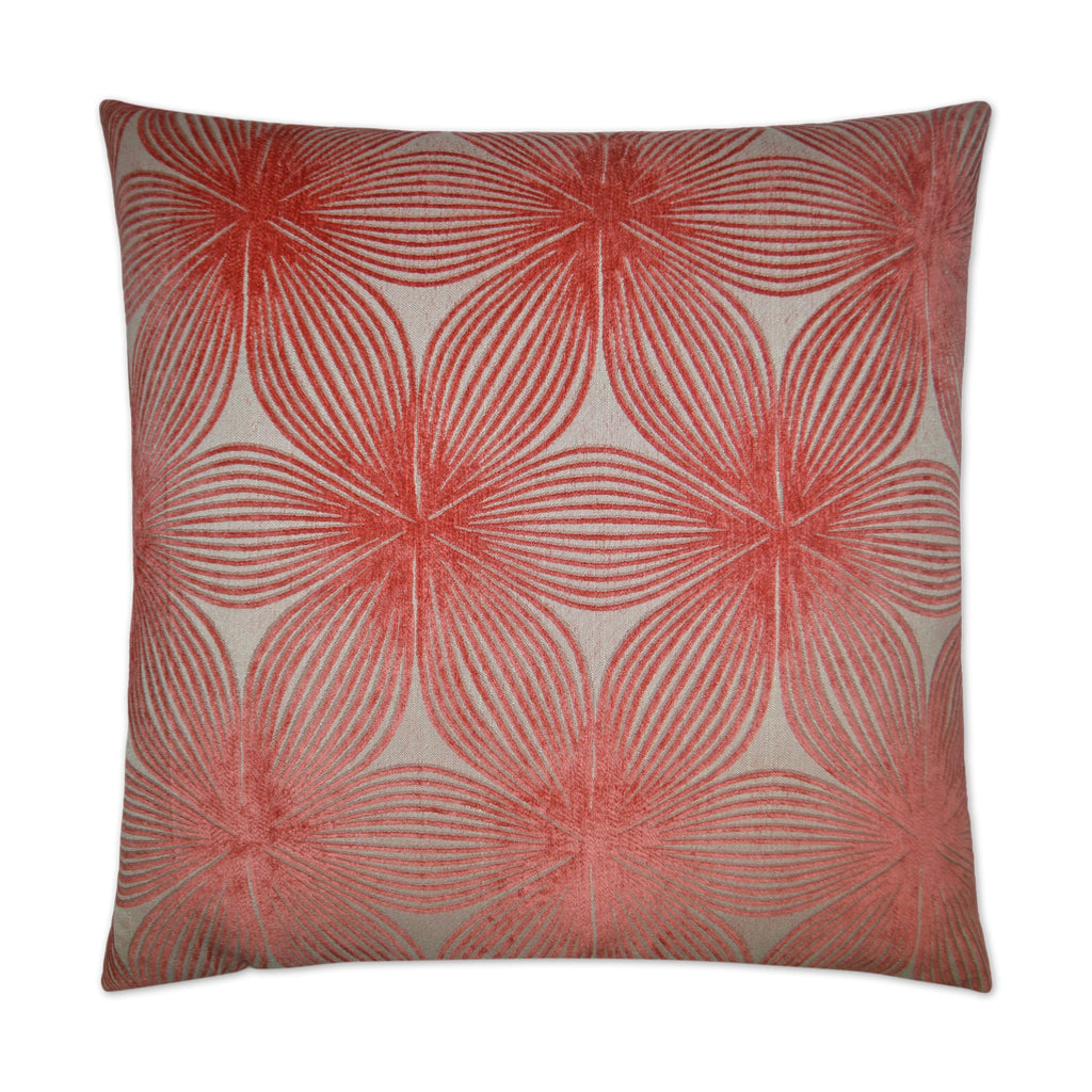 Ellery Pillow in Coral