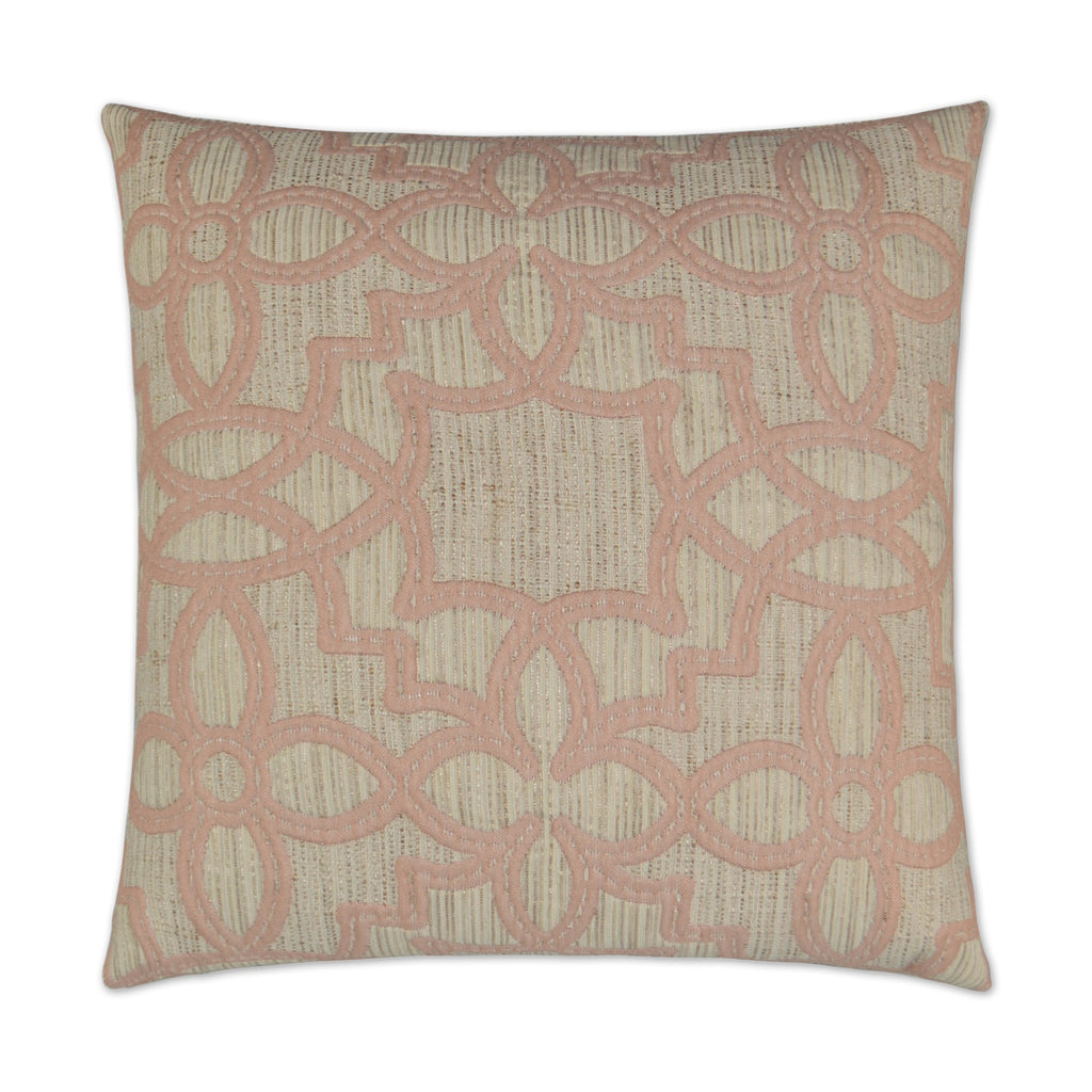 Arabesque Pillow in Blush
