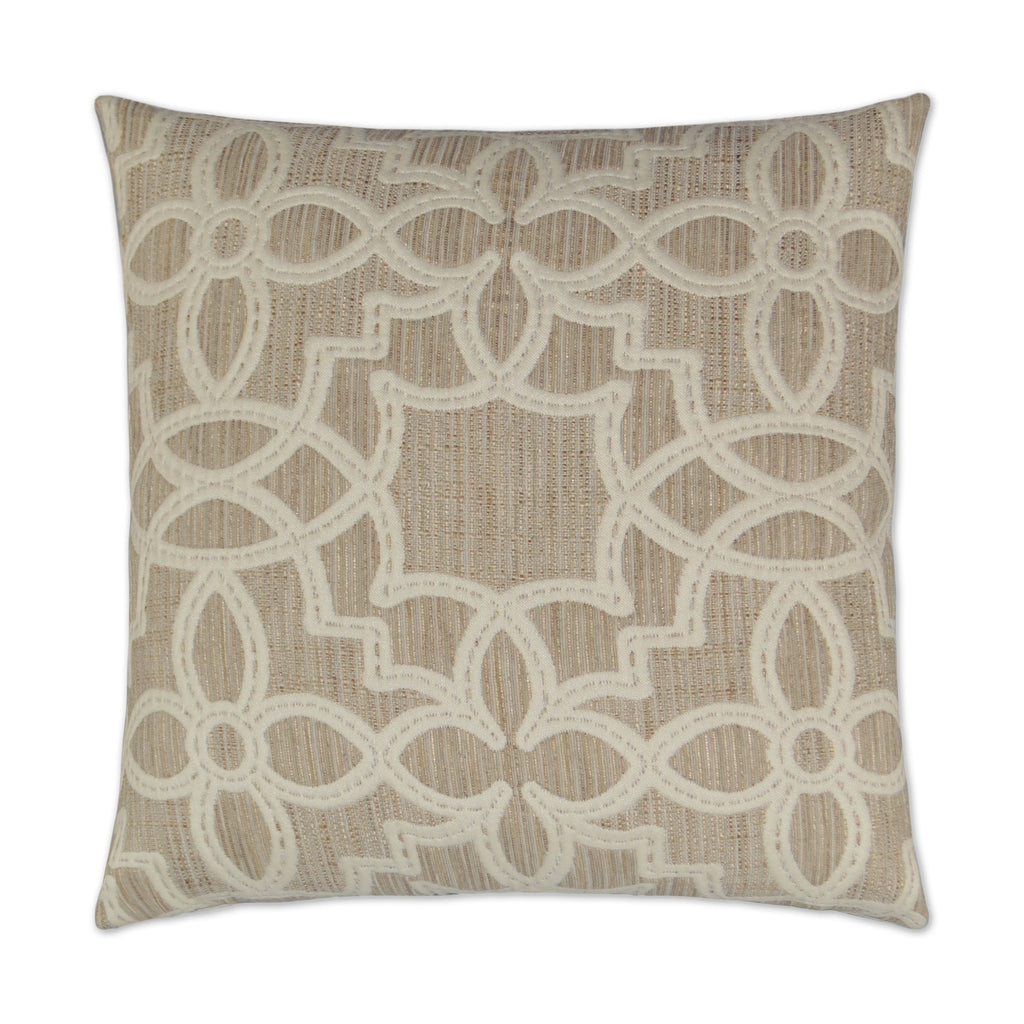 Arabesque Pillow in Ivory