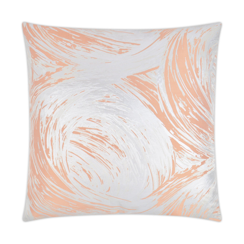 Tornado Pillow in Salmon