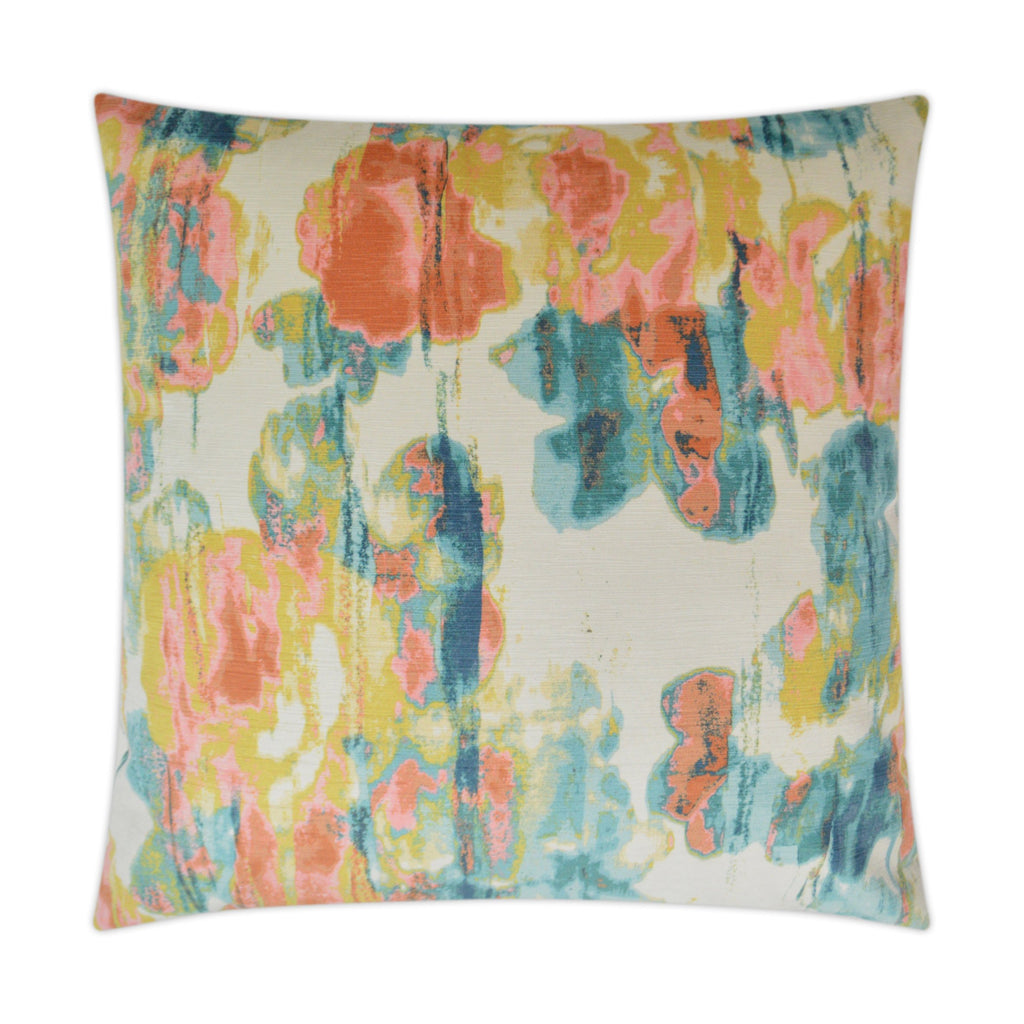 Vibrato Teal Pillow