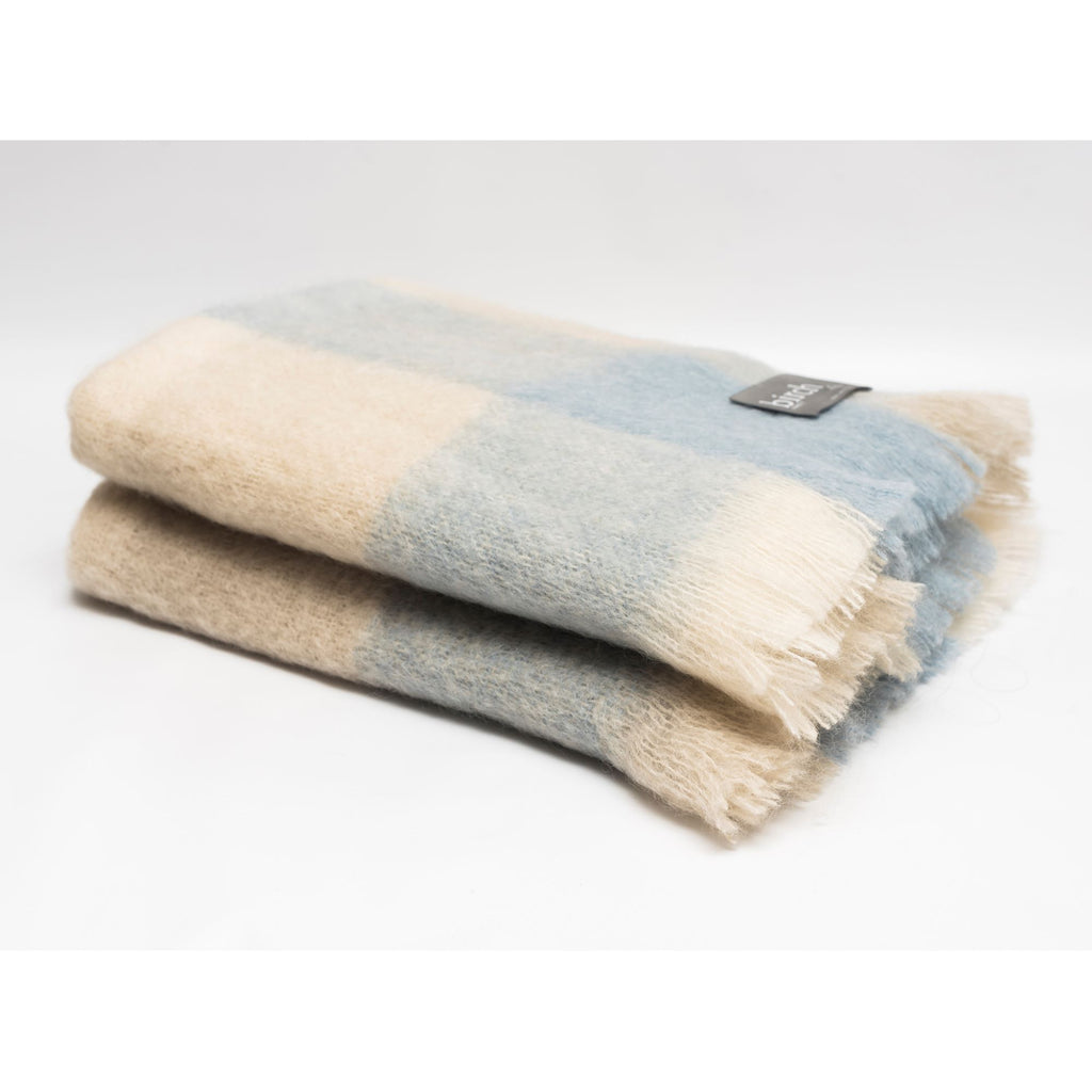 Mohair Throw Blanket