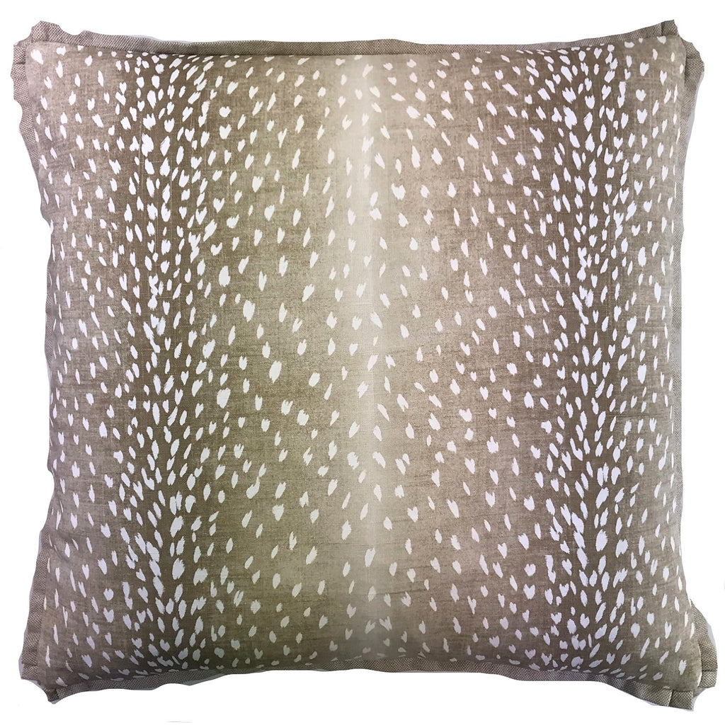 Deer Fawn Accent Pillow