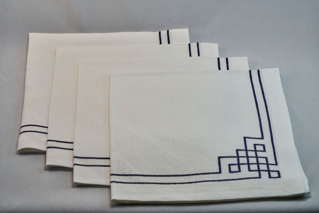 Fretwork Cloth Napkin Set