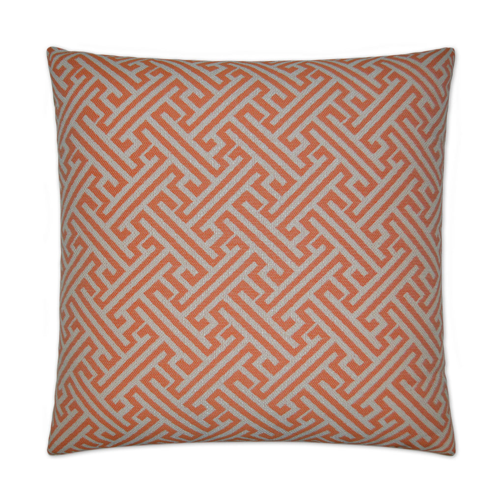 Amazed Pillow in Orange