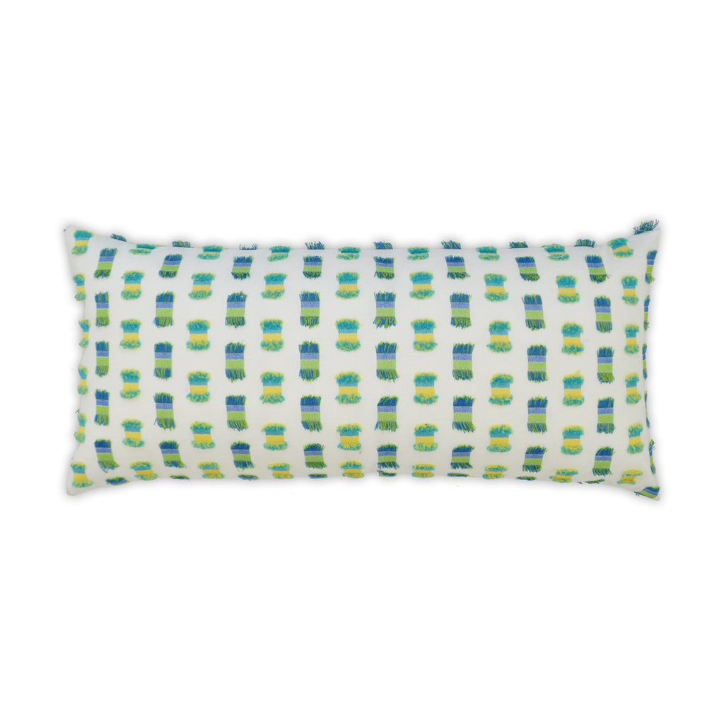 Fifi Lumbar Pillow in Green