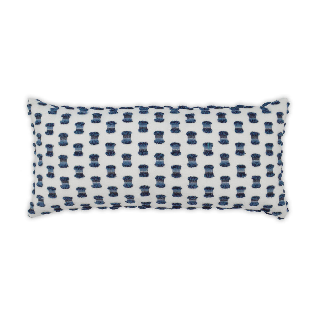 Fifi Lumbar Pillow in Indigo