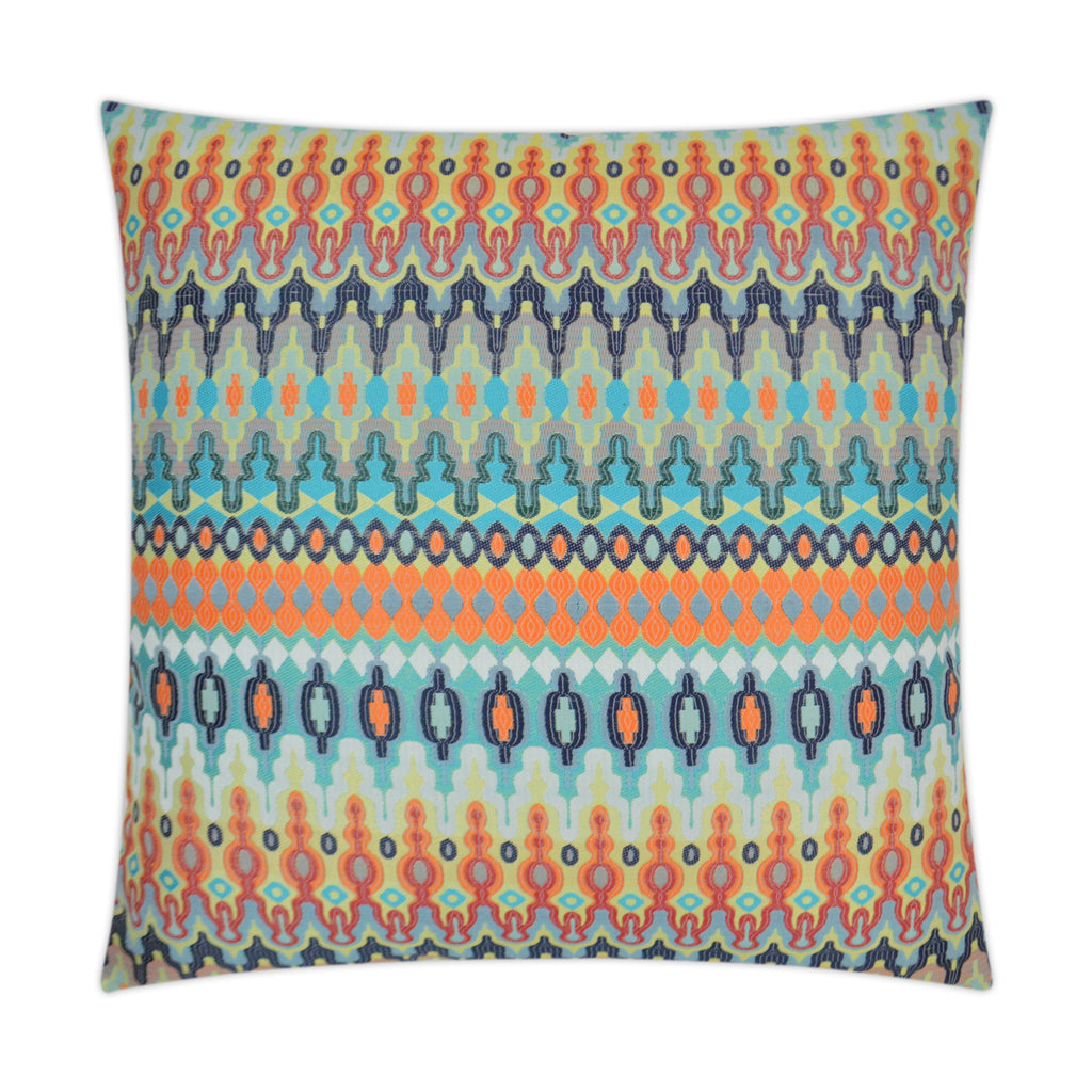 Kanthum Pillow in Multi Orange