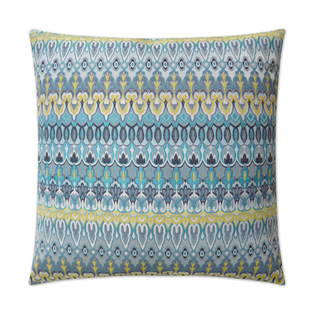 Kanthum Pillow in Multi Turquoise