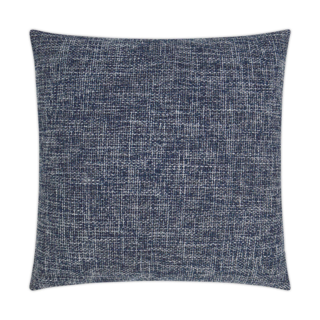 Double Trouble Pillow in Navy