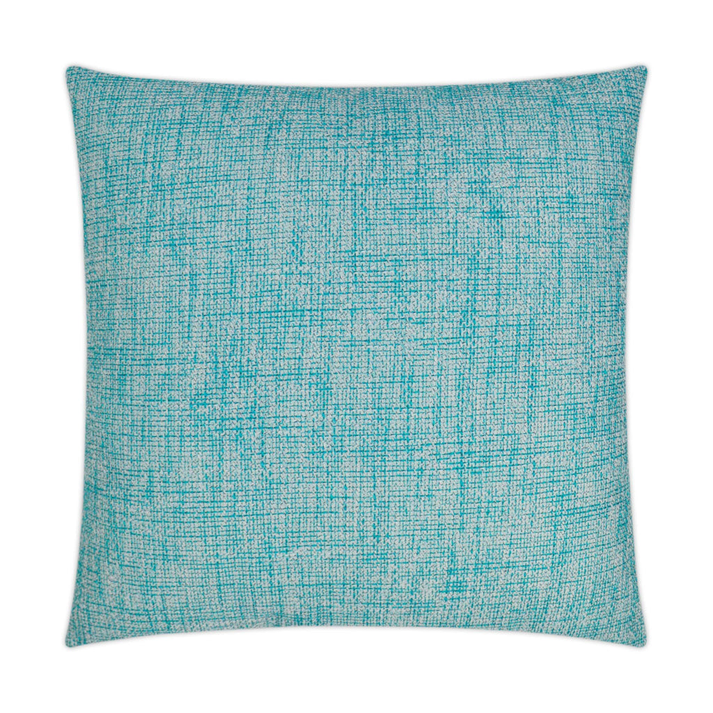 Double Trouble Pillow in Turquoise