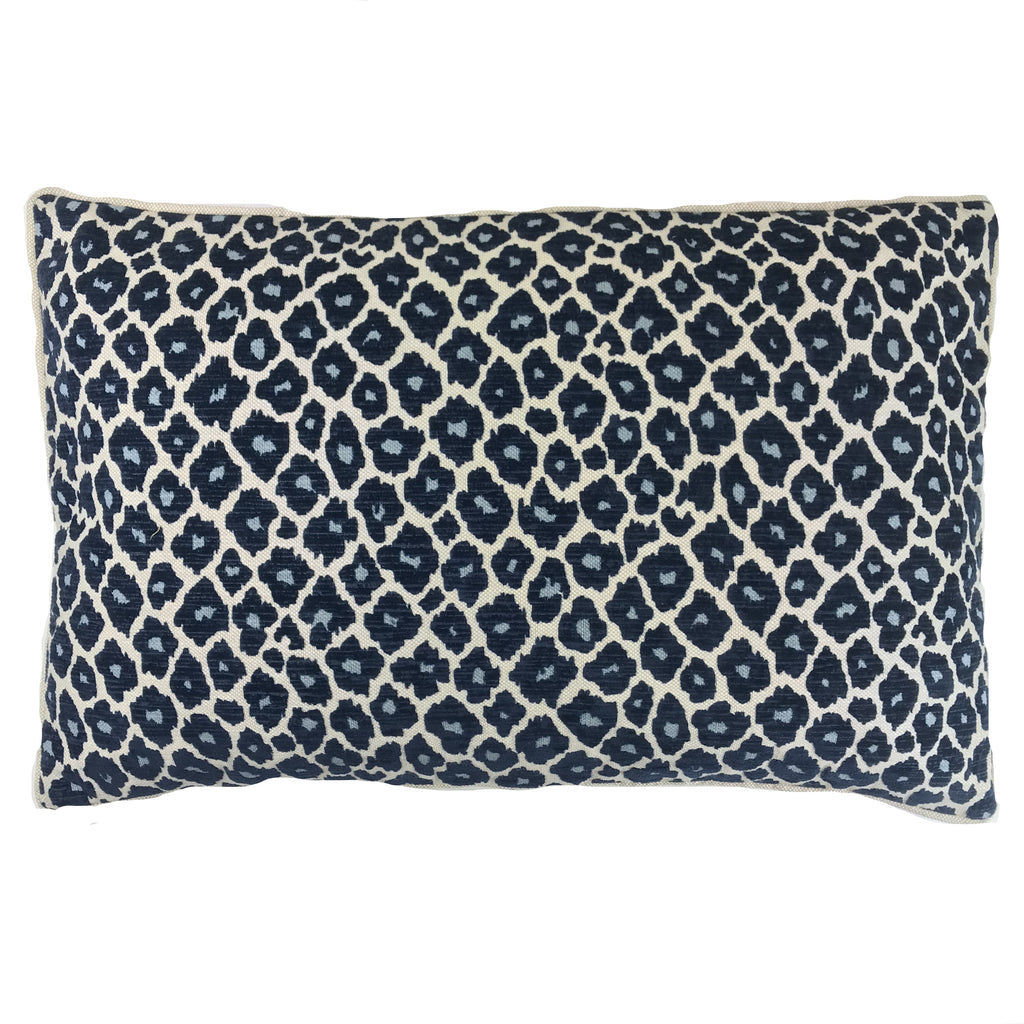 Simba Navy Lumbar Pillow