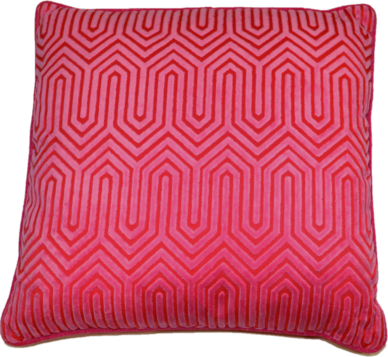 Nicole Pink Accent Pillow