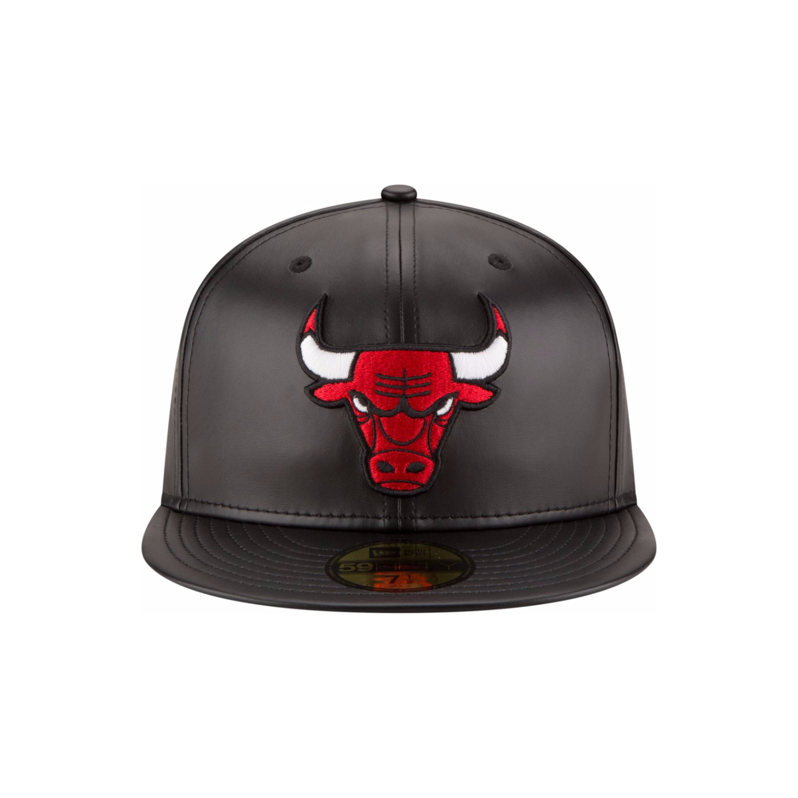 NBA Mens Faux Leather 59FIFTY Fitted Cap