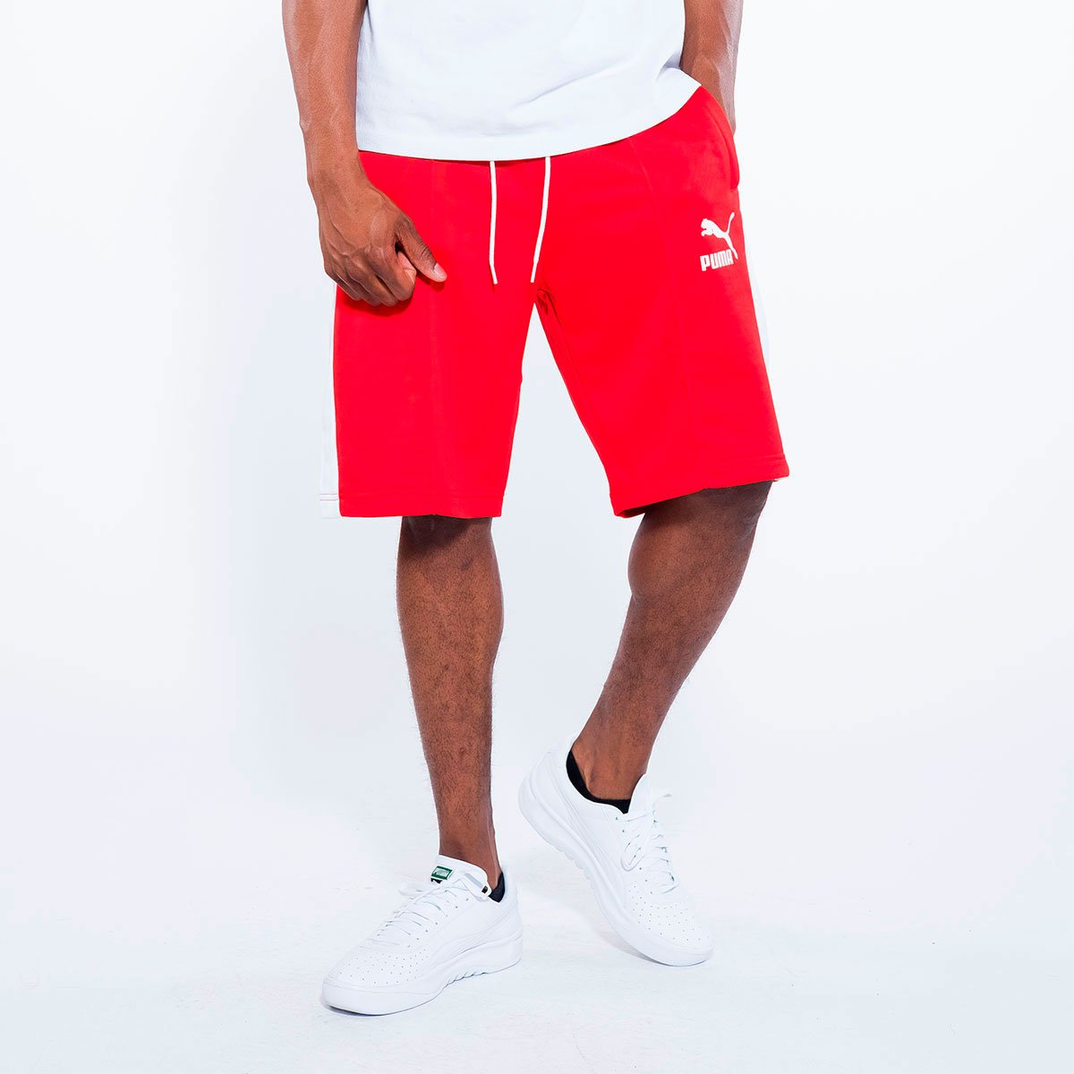 [855026-01] Pintuck Archive T7 Bermuda Short