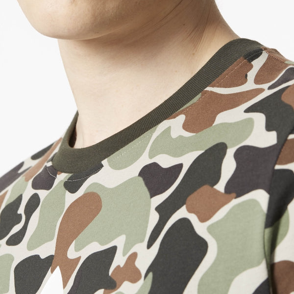[CD1696] Camouflage Color Tee