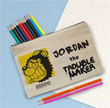 Beano Gnasher Personalised Pencil Case and Pencils - Smiley Moments