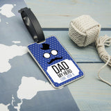 My Hero Personalised Luggage Tag - Smiley Moments