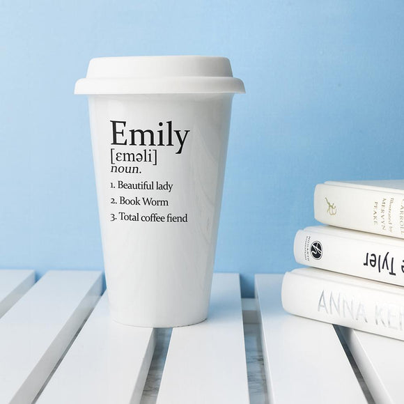 Personalised Definition Eco Mug - Smiley Moments