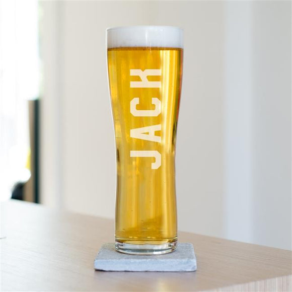 Personalised Name Pint Glass - Smiley Moments