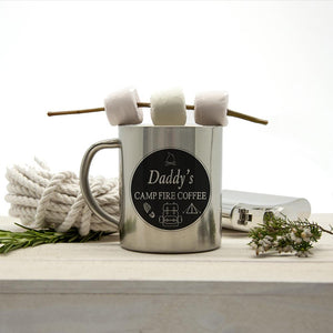 Personalised Silver Outdoor Mug - Smiley Moments