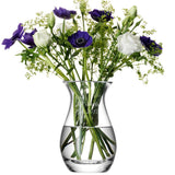 Pretty LSA Personalised Glass Posy Vase Glassware Script