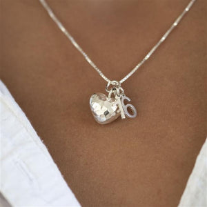 Silver Special Birthday Necklace - Smiley Moments