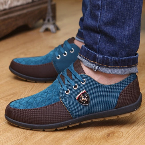 2017 Fashion High Quality Men's Casual Shoes Lace Up Flats Men Breathable Shoes 5 Styles Men Oxfords Superstar Shoes Size 39-44