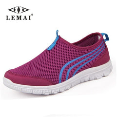 LEMAI 2018 Men Sneakers,Unisex Lover Shoes Summer Casual Men Shoe Breathable Network Shoes man Slip On Flats For Man 35-46