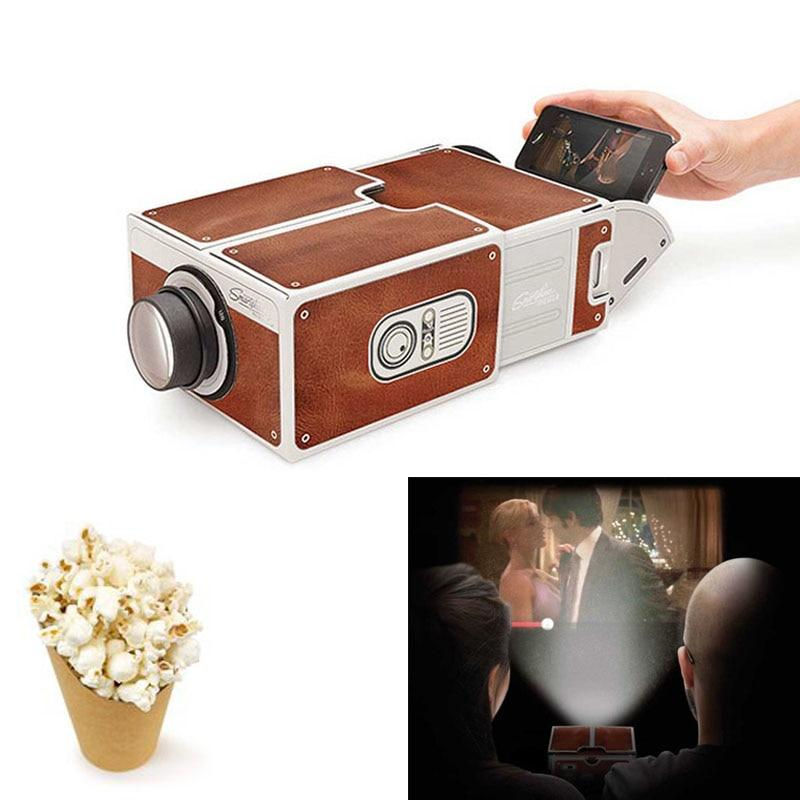 DIY Cardboard Cinema