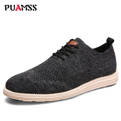 2018 New Summer Men Casual Shoes Men Business Formal Brogue Weave Carved Oxfords Wedding Dress Shoes Breathable Light Men Shoes