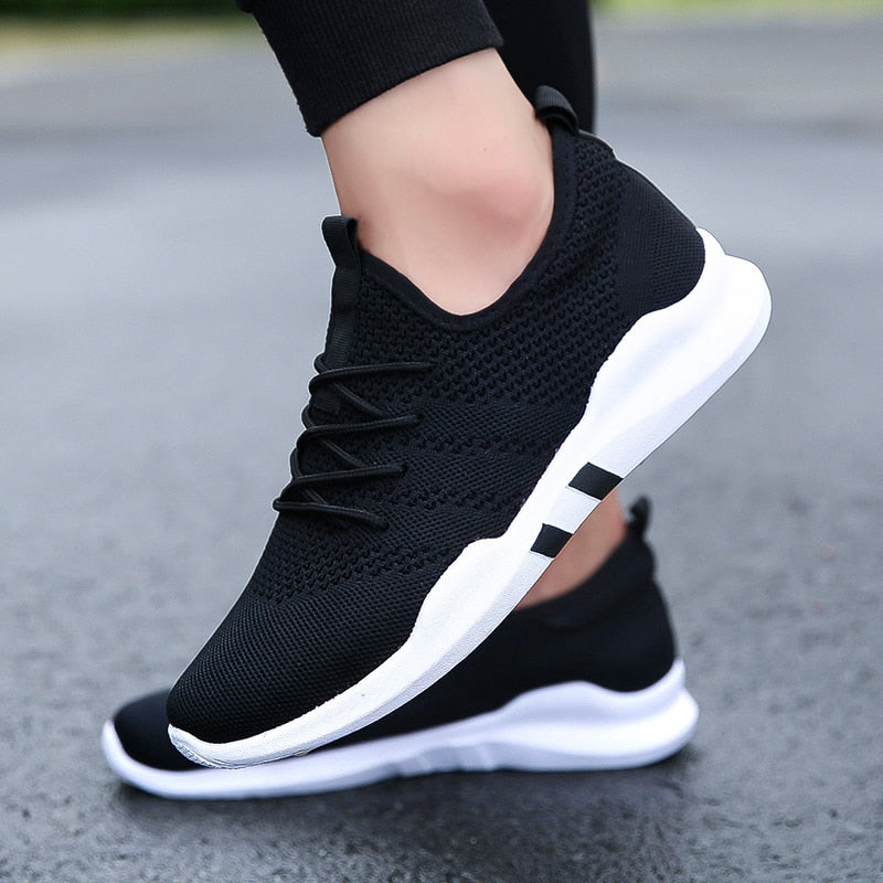 Spring and summer Popular Men fashion Casual Shoes Breathable Male 2018 sneakers adult Non-slip Comfortable Footwear 3 colors