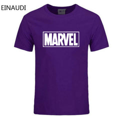 EINAUDI 2018 New Fashion MARVEL t-Shirt men cotton short sleeves Casual male tshirt marvel t shirts men tops tees Free shipping