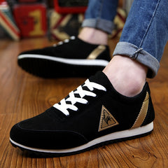 New 2018 Spring/Autumn Casual Shoes For Men Fashion Comfortable Lace-up Adult Male Sneaker Footwear Plus Size 39-47