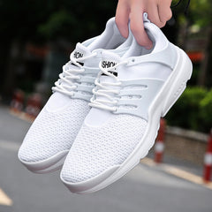 Spring/Autumn New models men shoes 2018 fashion comfortable youth casual shoes For Male soft mesh  design lazy shoes