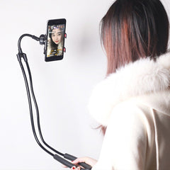 Unique universal shoulder support for smartphone, lets you use your Phone with No Hands