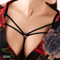Morease Bondage Sexy Breast Harness for Women Black Erotic Charming Temptation Restrainted Body Binding Sex Toy Adults Game
