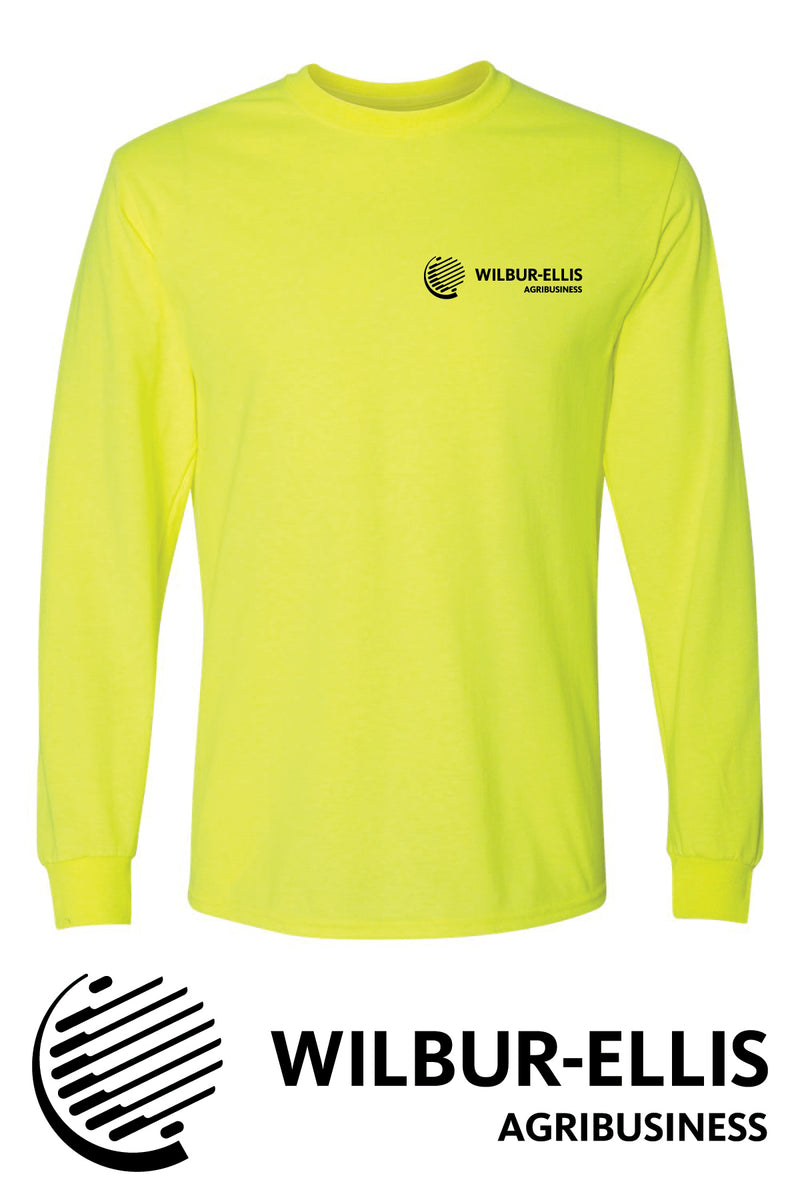 Wilbur-Ellis Safety Long Sleeve T-Shirt - 8400