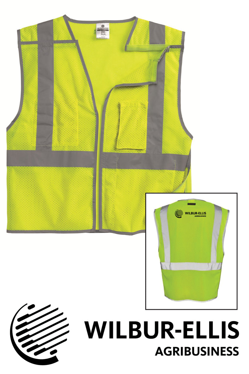 Wilbur-Ellis Safety Break-Away Vest - 1505