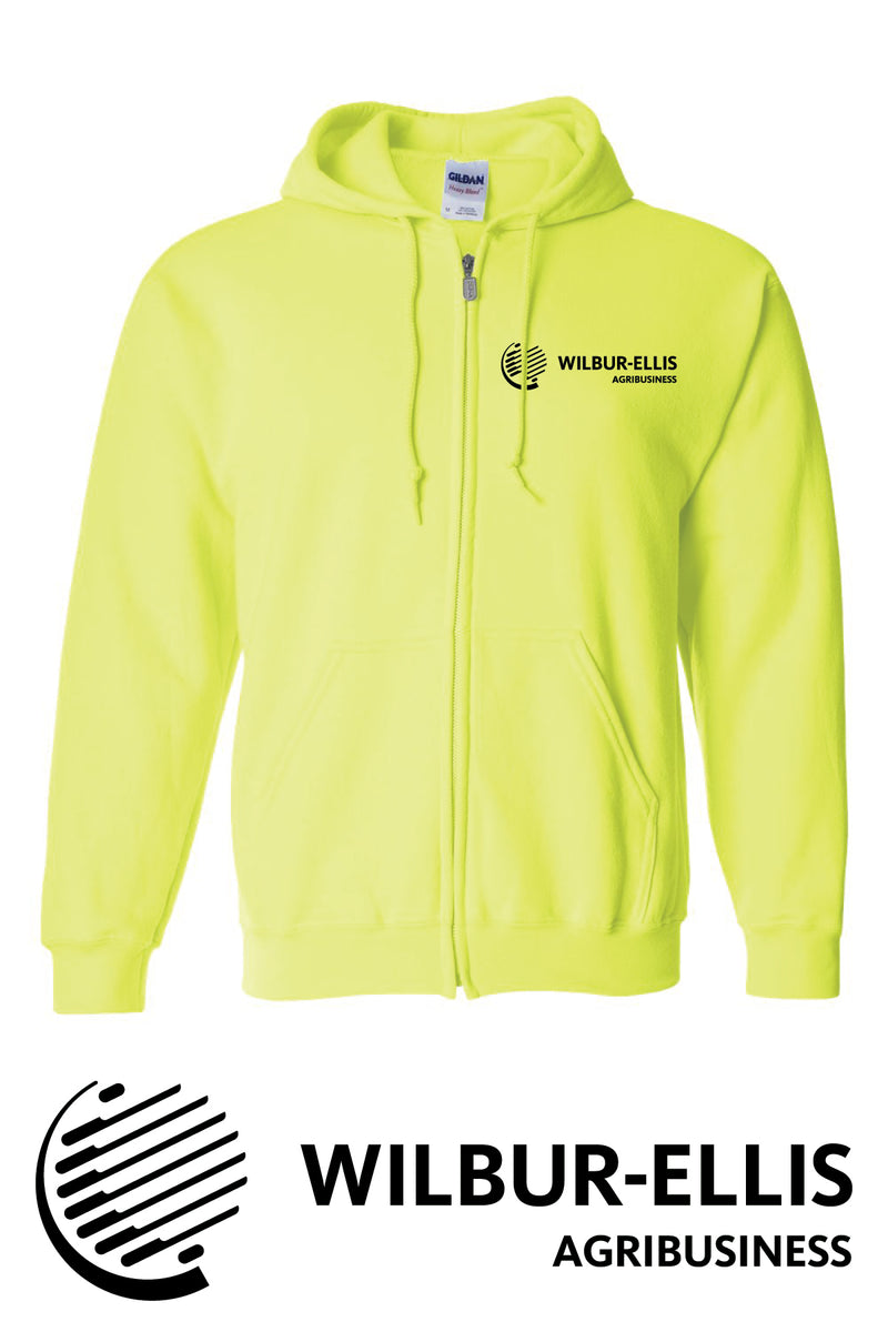 Wilbur-Ellis Safety Full-Zip Sweatshirt - 18600