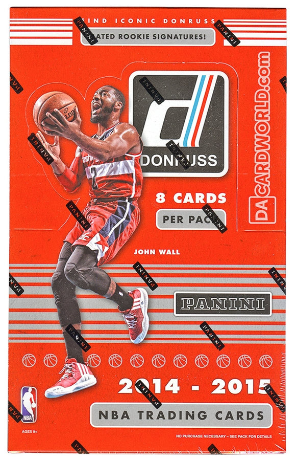2014/15 Donruss Basketball Hobby Box