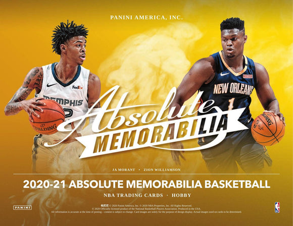 2020/21 Panini Absolute Basketball Hobby Box
