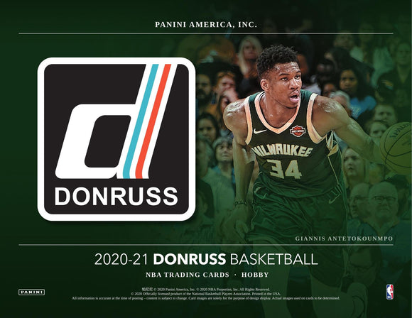 2020/21 Donruss Basketball Hobby Box