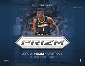 2020/21 Panini Prizm Basketball Hobby Box Case