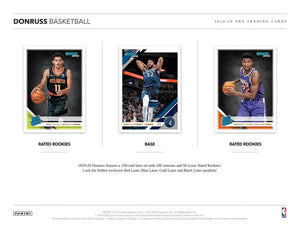 2019/20 Panini Donruss Basketball Hobby Box